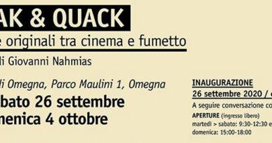 """mostre // al Forum di OMEGNA la mostra """"CIAK & QUACK. Tavole originali tra cinema e fumetto""""… inaugurazione SABATO 26 SETTEMBRE"""